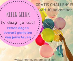 gratis challenge klein geluk